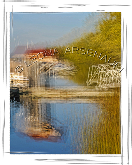 IMPRESSIONISTIC;LENS_CREATION;WATER;PIER;DOCK;BOATS;ABSTRACT;VERTICAL