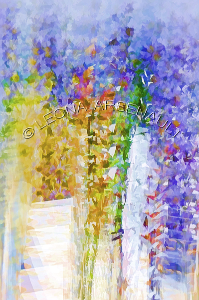 IMPRESSIONISTIC;LENS CREATION;DIGITAL ART;ABSTRACT;FLOWERS;VERTICAL