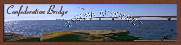 CONFEDERATION BRIDGE;NORTH THUMBERLAND STRAIT;WATER;BOOKMARK;