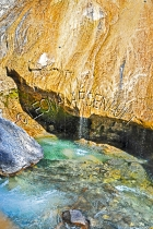 CANADA;ALBERTA;BANFF_NATIONAL_PARK;JOHNSTON_CANYON;WATER;ROCKS;STREAMS;LIMESTONE