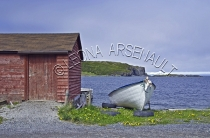 CANADA;NEWFOUNDLAND;ST_LUNAIRE_GRIQUET;WATER;COASTAL;DORY;BOAT;NAUTICAL;CLIFF;SU
