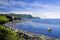 CANADA;NEWFOUNDLAND;GROS_MORNE_NATIONAL_PARK;NORRIS_POINT;ROCKS;SHORE;WATER;BONN