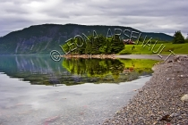 CANADA;NEWFOUNDLAND;GROS_MORNE_NATIONAL_PARK;NORRIS_POINT;WATER;FOG;CLOUDS;REFLE
