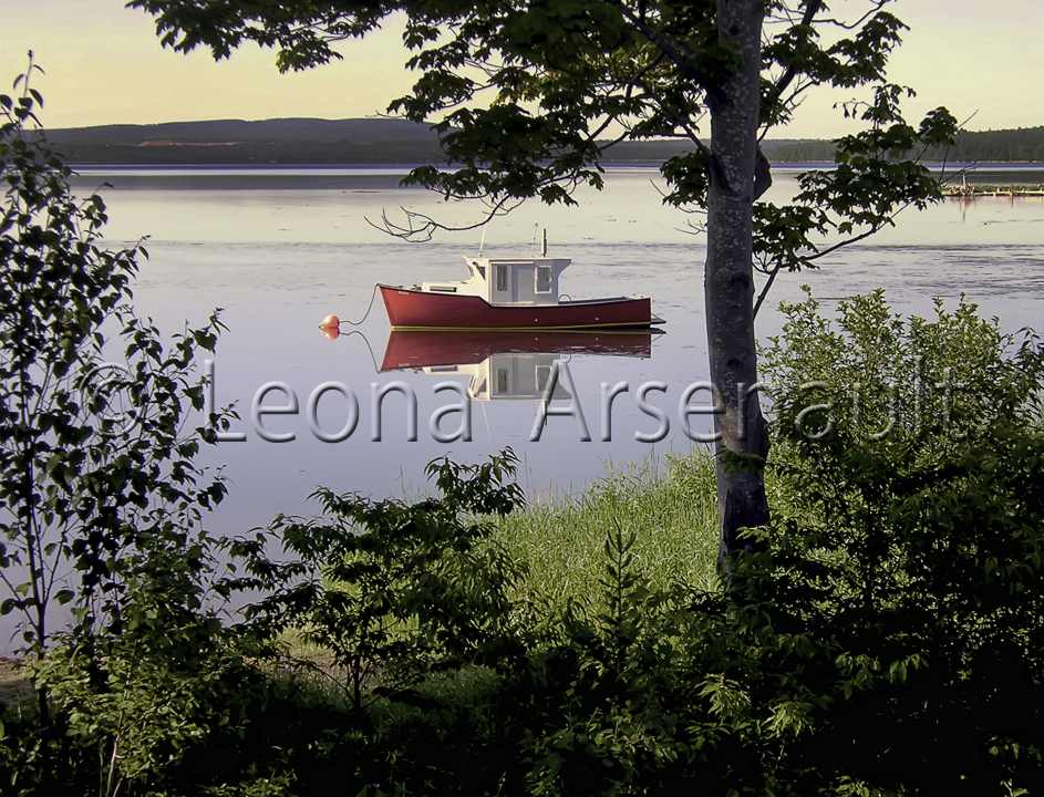 CANADA;NOVA SCOTIA;BADDECK;BOAT;WATER;SCENIC;WATERSCAPE;NAUTICAL;HORIZONTAL;