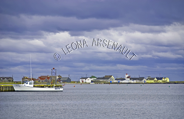 CANADA;PRINCE EDWARD ISLAND;QUEEN'S COUNTY;NORTH RUSTICO;WHARFS;PIERS;HARBOURS;GULF OF ST LAWRENCE;WATER;BOATS;FISHING;NAUTICAL;SUMMER;SEASCAPE;SCENIC;HORIZONTAL;