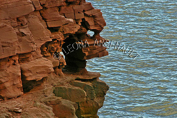 CANADA;PRINCE EDWARD ISLAND;PRINCE COUNTY;CAP-EGMONT;;SUMMER;CLIFFS;RED SOIL;WATER;WATERSCAPE;SCENIC;HORIZONTAL