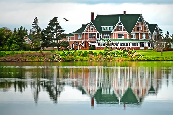 CANADA;PRINCE EDWARD ISLAND;QUEEN'S COUNTY;DALVAY;DALVAY BY THE SEA;WATER;REFLECTIONS;HOTELS;SUMMER;WATERSCAPE;LANDSCAPE;SCENIC;HORIZONTAL