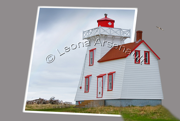 CANADA;PRINCE EDWARD ISLAND;KING'S COUNTY;NORTH RUSTICO;LIGHTHOUSES;DIGITAL CREATIONS;LANDSCAPE;HORIZONTAL