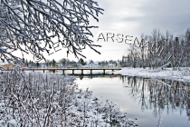 CANADA;PRINCE_EDWARD_ISLAND;PRINCE_COUNTY;WELLINGTON;WATER;TREES;SNOW;REFLECTION