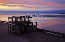 CANADA;PRINCE_EDWARD_ISLAND;SUNSETS;DUSK;LOBSTER_TRAPS;TRAPS;SILHOUETTES;WATER;N