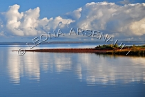 CANADA;PRINCE_EDWARD_ISLAND;PRINCE_COUNTY;ABRAM_VILLAGE;WATER;REFLECTIONS;FALL;S