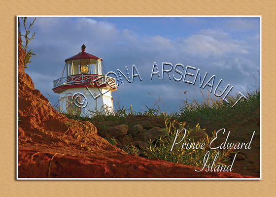 CANAD;PRINCE EDWARD ISLAND;PRINCE COUNTY;NORTH CAPE LIGHTHOUSE ;LIGHTHOUSES;POSTCARD;PRINCE EDWARD ISLAND POSTCARD;PEI POSTCARD;