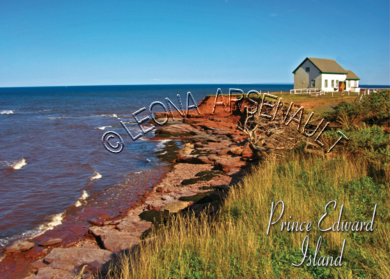 CANADA;PRINCE EDWARD ISLAND;PRINCE EDWARD ISLAND POSTCARDS;PEI POSTCARDS;EAST POINT;WATER;GULF OF ST LAWRENCE;POSTCARDS;